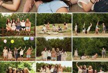 Friends shoot