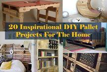 pallet DIY / by Nikki Kelley