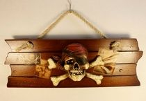 Pirate-Themed Child's Room
