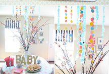 Baby Shower Decor Ideas / by Jen Samsell
