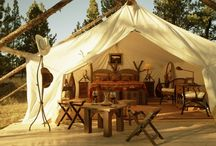 luxury camping / by Susan Sprague