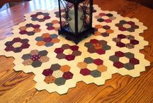 Quilt english paper piecing & Hexies / English paper piece quilt