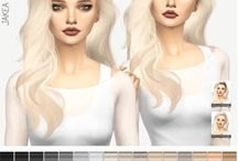 The Sims 4 downloads - Hairstyles