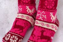 Project: Fair Isle style Hat/Scarf/Mittens