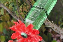 reciclando com garrafa pet