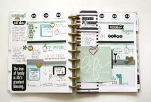 Planner - set up Happy Planner