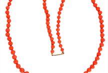 Vintage Orange Jewelry