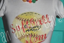 Softball~ Ella Grace, Madi, & Ava / by Courtney Huddleston