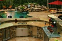 Home design backyard