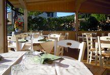 Terrazza Panoramica Antico Borgo Iano / Potete gustare i nostri piatti , nella terrazza panoramica.