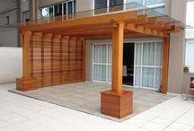 Porch sunscreen