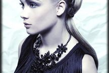 White Ice BHBE show / luxurious upstyling, bridal, runway, red carpet hair