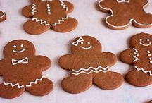 gingerbread biscuits / lovely gingerbread creations