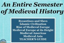 Medieval History / Resources for teaching Medieval History from 6th-12th grade from Stephanie's History Store