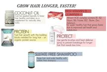 Make Your Hair Grow / Long Hair Care Essentials to Make Your Hair Grow - faster, stronger, longer,  hair, beauty, tips, secret, products