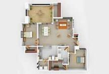 3D Floor Plan Rendering / At Cad Resolutions we offer 3d floor plan rendering and modeling services like property floor plan, 3d floor plan design, 3d floor plans, House floor plans, office floor plans, conceptual floor plan to our clients.