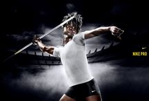 Inspirations - javelin session / title says it all - mood board for the studio session of a javelin thrower