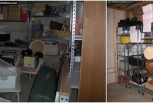 Organizing Your Basement / Organizing ideas for your basement, including before and after pictures from our client work.