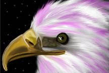 Digital Art / Digital eagle