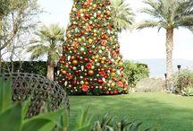 Steven Cox Instagram Photos A 30 ft Christmas Tree  #holidayfun #ritzcarlton #palmsprings