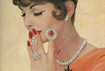 Addicted to Vintage Ads / Are you addicted, too? Jewelry advertisements from the past. So perfect to get an inspiration how it looks & works in reality. Time to get lost in the 20th Century...