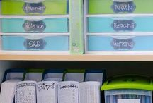 Labels for Homeschooling Families / Using labels to help organize your homeschool classroom.