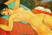 Naakten in de kunst / Nudes in art