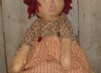 Raggedy Britches / homespun dolls Raggedies and other cloth dolls for a little girl who will love them forever.