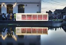 Architecture: Pavilions & Installations / Single use pavilions, small architectural structures like kiosks & toilets, shelters, pop-ups, art installations inside and outside... #architecture #design #interiors #popup