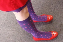 Sock Drawer / My inventory of fun socks. I fancy fun socks. It all started when my mom bought several brightly-colored argyle socks. We were supposed to share... but somehow they eventually all ended up in my sock drawer. / by April Sarayudej