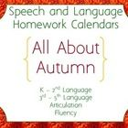 Season: Fall / Speech/Language