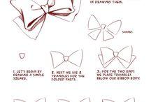 Draw hair decoration's