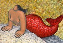 Mermaids! - Sirenas! - Sirènes! / by Michel Van Thournout