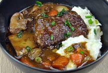 Crockpot stews & meat stuff