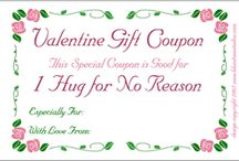 Valentines / Hearts and love, printables and crafts for Valentine's Day or weddings. / by Lee Hansen, Designer