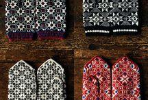 Vantar mittens / Vantar knitting mittens