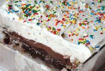 Ice cream cakes & pies