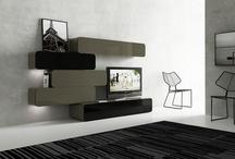 Novedades / Lo último en tendencias, nuevos materiales, colores y líneas de diseño.Muebles para salon.