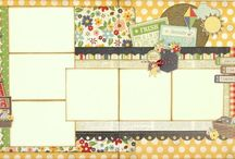 Layouts I Love - Two Page / by Donna Feissel