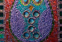 Glass Mosaics/ Üvegmozaikok / www.ayaglass.hu