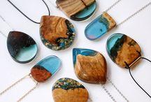 Šperky z dreva