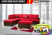 JMD Living Room Value Bundle / JMD Living Room Value Bundle #JMDFurniture #livingroom #furniture #sofa #loveseats