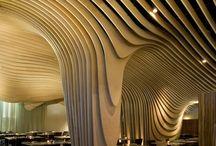 Eco architektura / zielone elewacje, organiczne formy