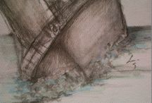 Boats / New drawings