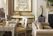 Interiors--home offices & studies