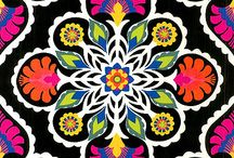Multi color floral / print & embroidery designs