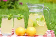Limonády, čaje, sirupy,aj.....