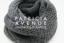 Patricia Avenue INFINITY LOOP Scarves
