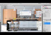 3D Tutorials / C4D, Vray, post production