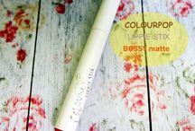 lipstick, colourpop